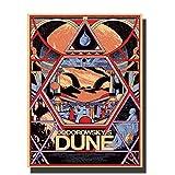 DNJKSA Dune Jodorowsky's Classic Movie Custom Art Poster