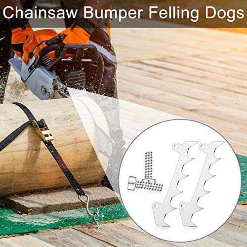 4 Sets Chainsaw Bumper Felling Dog Compatible with STIHL MS170 MS180 MS200 MS201 MS210 MS230 MS250 MS171 MS181 MS211 017 018 020 021 023 025 019T MS190T MS192T MS193T MS200T Chainsaw