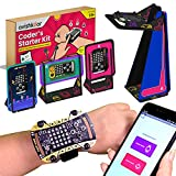 Included components : 15+ parts including programmable Maker Board, USB cable, five gadget skins, battery, connectors & manual Ages : 10 years and above; Learn coding & hands-on skills. Make 5 different smart gadgets : Smart Watch, Smart Lamp, Poratb...