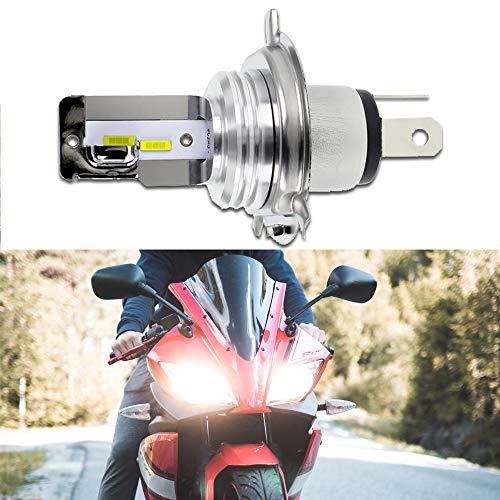 GLL 1pc H4 LED Phare CPS 1860 4SMD Ampoules de Phare de Moto Faisceau Haut/Bas 1500 Lumens 6500K