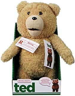 """Ted 16"""" Plush with Sound & Moving Mouth, R-Rated, 5 Phrases (Explicit Language) by Ted [Toy] [並行輸入品]"""