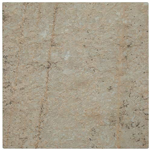 SomerTile FGA12ITM Castile Porcelain Floor and Wall Tile, 11.5' x 11.5', Anti-Slip Mix