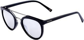 Hoishing Hot Crossbar Round Polarized Sunglasses with...
