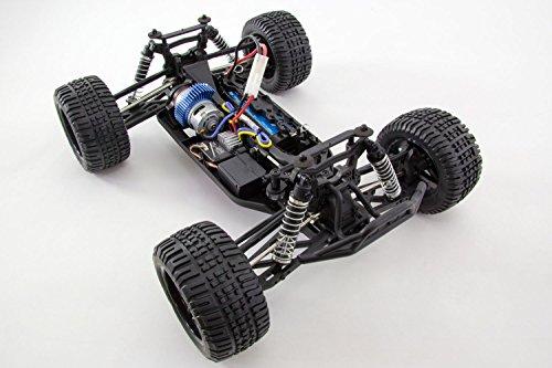 RC Auto kaufen Truggy Bild 3: XciteRC 30308200 - Ferngesteuertes RC Auto - Truggy one 10 4WD RTR Modellauto M1:10, schwarz*