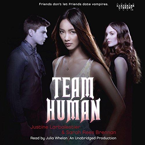 Team Human audiobook cover art