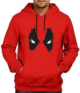 Inferno Deadpool Red-Hoodie | Mens Hoodies Hoodies for Mens | Deadpool Winter Hoodie Sweatshirt Red Color