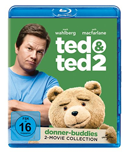 Ted 1 & 2 Box [Blu-ray]