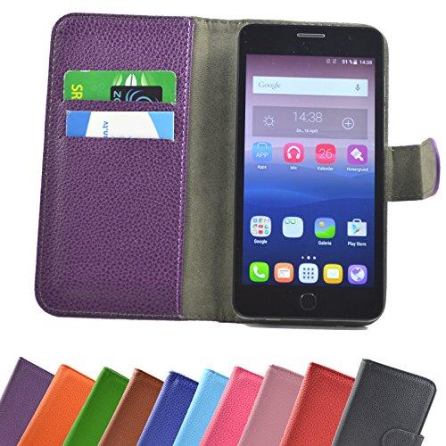 ikracase Hülle für MEDION Life P5005 Handy Tasche Hülle Schutzhülle in Violett