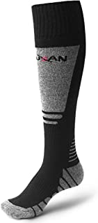 MUSAN Wool Ski Socks,Extra Warm Knee High Performance Snow Skiing/Snowboard Socks in Outdoor,Fit for Men and Women