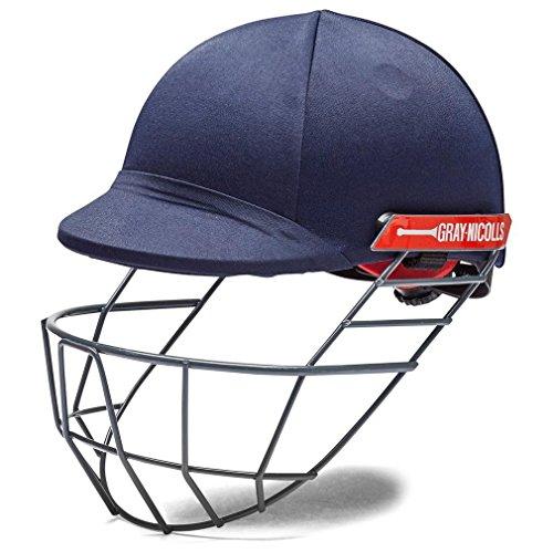 Gray Nicolls Atomic Cricket Helmet (Navy, Boys)