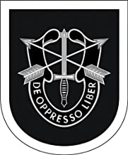 Military Vet Shop Magnet US Army 5th Special Forces Group Group Vinyl Magnet Car Fridge Locker Metal Decal 3.8