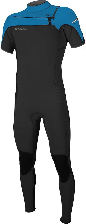 O';Neill Hammer 2MM Brust-Zip-Kurzarm-Neoprenanzug schwarz Ocean - Easy Stretch - Kypto Knieschützer B079BHJLV2  Luxus