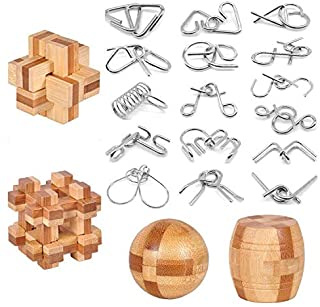 Amazon Com Brain Teasers Toys Games Puzzle Boxes Assembly Disentanglement Puzzles More