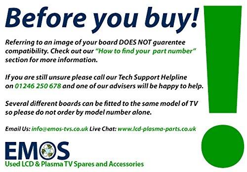 Price comparison product image BN41-01165A BN94-03132C BN4101165A BN9403132C SAMSUNG LE40B530P7W MAIN BOARD