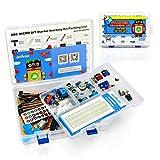 OSOYOO Starter Learning Kit para la programación de BBC Micro bit El MicroPython para Principiantes y niños Adecuado para la educación de Troncos