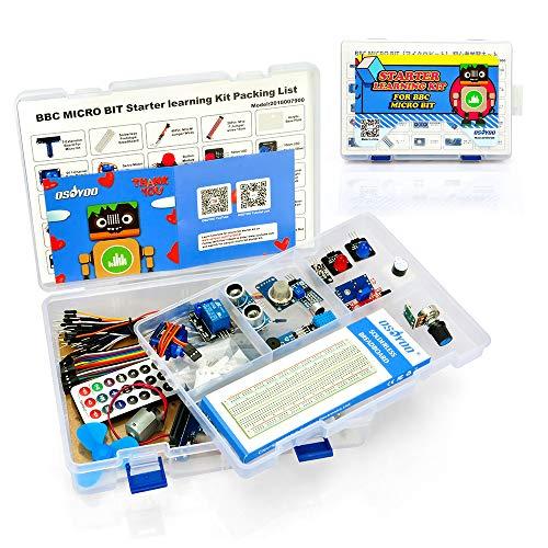 OSOYOO Starter Learning Kit para la programacin de BBC Micro bit El MicroPython para Principiantes y nios Adecuado para la educacin de Troncos