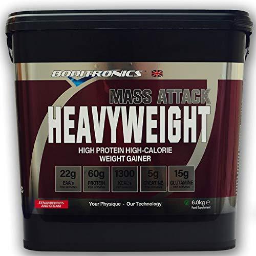 Boditronics Mass Attack Heavyweight, 6kg (Vanilla Ice Cream)