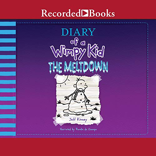 Diary of a Wimpy Kid: The Meltdown audiobook cover art