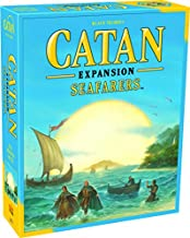Catan Seafarers Board Game Expansion   Family Board Game   Board Game for Adults and Family   Adventure Board Game   Ages 10+   for 3 to 4 Players   Average Playtime 60 Minutes   Made by Catan Studio