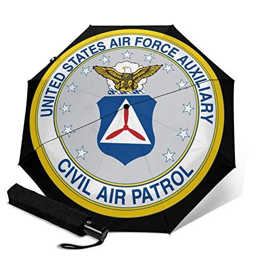Parasol automático de tres pliegues de la Patrulla de Aire Civil USAF