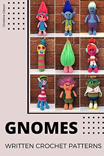 Gnome Dolls Crochet Patterns: Written Crochet Patterns (English Edition)