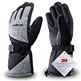 Best Ski Gloves - RIVMOUNT Winter Ski Gloves for Men Women,3M Thinsulate Review