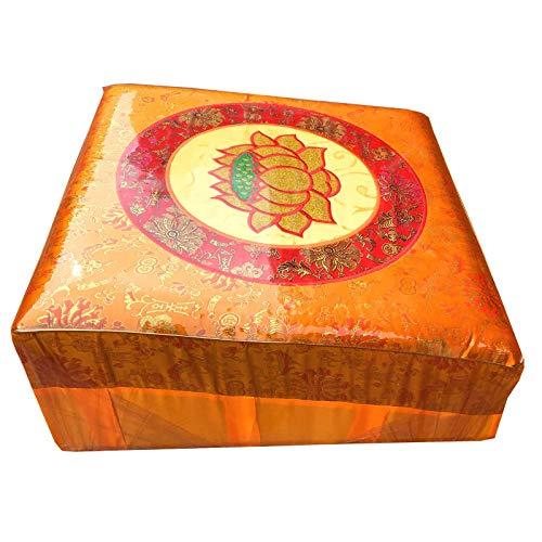 TWW Banco De Meditación, El Taburete De Rodillas Original, Certificado De Postura, Mejor Silla, Asiento Bajo para Meditaciones, Yoga, Oración para Niños,50