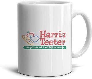 NZKHDbbaei White Inspirational CeramicTea Harris-Teeter-Logo-Symbl- Mugs