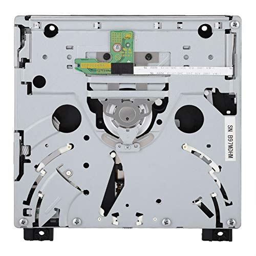 ASHATA Laufwerk D2E, Professionell Game Player Optisches Laufwerk Einfache Installation,Tragbar Ersatz DVD Laufwerk Drive für WII D2E Konsole