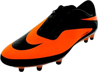Hypervenom Phatal FG 599075 008 Black/Bright Citrus Men's Soccer Cleats Boots (Size 10.5)