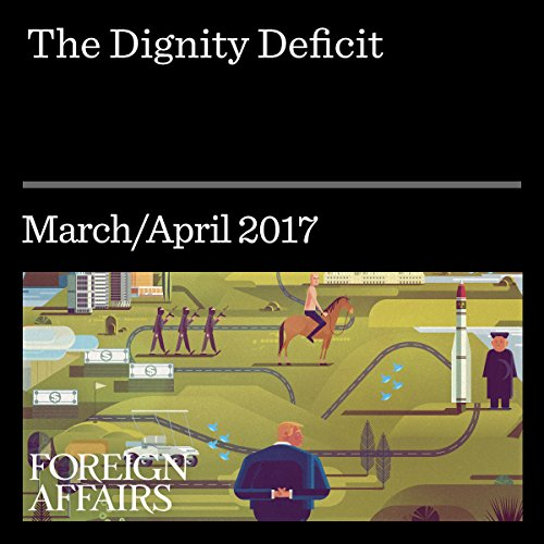 The Dignity Deficit audiobook cover art