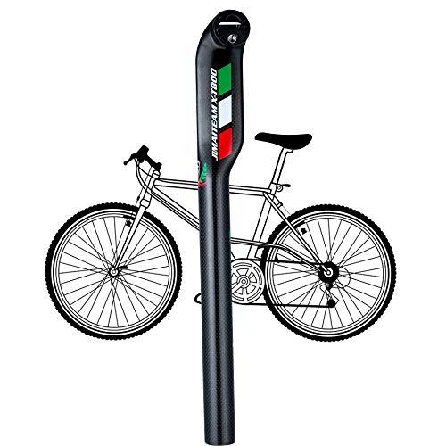 Lidauto zadelpen voor fiets, telescoopstang voor fiets, MTB, om op te hangen, carbon, 27,2 mm, 30,8 mm, 31,6 mm x 350 mm/400 mm