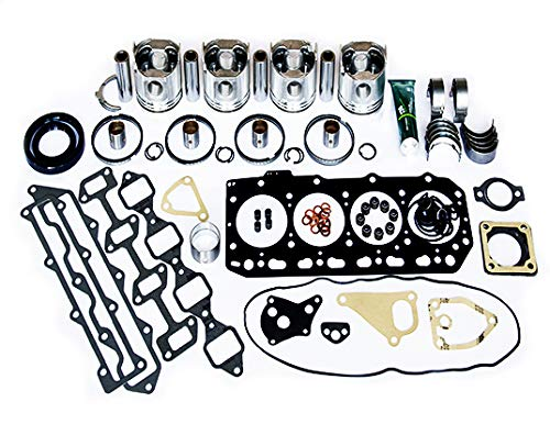 Yanmar 4TNE84 2.0L Diesel Overhaul Rebuild Kit YOK4TNE84D ISO 9001: 2015 Certified Facility. New Quality Engine Parts.