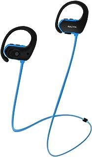 MP3 Headphones Built in 8GB TF Card Memory Storage,Ralyin Bluetooth Earbuds with Microphone Wireless Headphones for Working Sport Audifonos Waterproof Cordless Earphones w mic Headset Audiobook (blue)