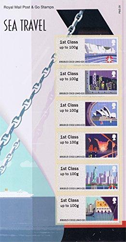 2015Sea Travel Post und Go Präsentation Pack ppp20(P & G20)–Royal Mail Briefmarken