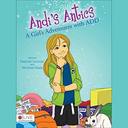 Andi's Antics audiobook cover art