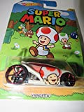 Hot wheels super mario Vandetta toad car