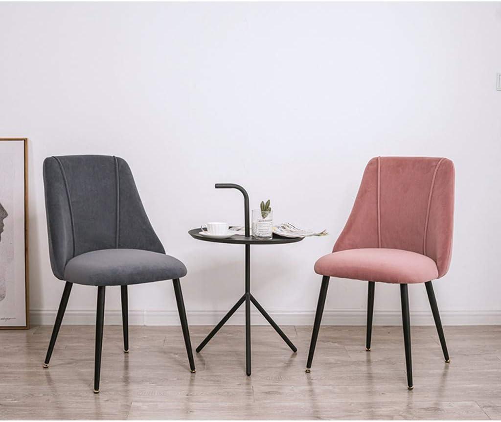 LF Chaise de Salle, Chaise de Bureau Simple, créative Dossier, Chaise Loisirs, Maison Adulte Chaise de Salle Simple (Color : Green) Gray