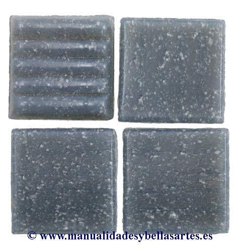 MosaixPro 200 g 20 x 20 x 4 mm 63-Piece en Verre, carrelage, Gris
