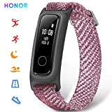 HONOR Band 5 Basketball Version Smart Watch, Bracelet Connecté avec Moniteur des données de Basketball Podometre Cardio Sport Running Sommeil, Rose