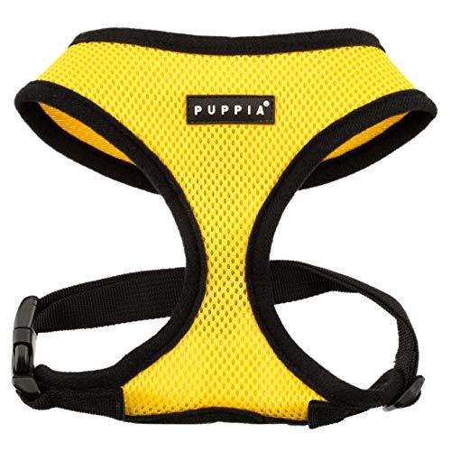 Puppia PDCF-AC30 Hundegeschirr Soft, L, gelb