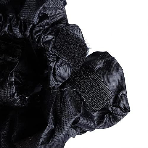 Cubierta de Rueda para Cochecito de bebé a Prueba de Polvo con Velcro Compacto firmemente extraíble para Rueda de Cochecito de bebé(Ruedas pequeñas)