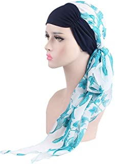 EINSKEY Chemo Headwear for Women, Elegant Multipurpose Head Scarf Turban Caps for Chemo, Cancer, Hair Loss, Sleep