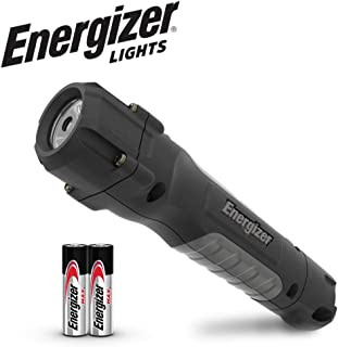 Energizer Tactical LED Flashlight, Hard Case Professional Work Light, Tactical Flashlights with High Lumens, IPX4 Water-Resistant Virtually Indestructible LED Lights, Batteries Included