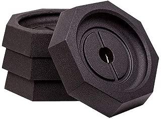 SnapPad EQ 10 Inch Octagon Landing Feet Motorhome RV Leveling Jack Pads (4 Pack)