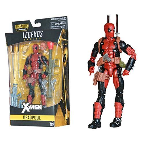 ZQBY7AA Los Vengadores Miracle / Deadpool 16CM del Animado de Modelo de la Figura de acción