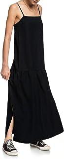 Quiksilver Womens - Vestido de Medio Largo con Tirantes para Mujer
