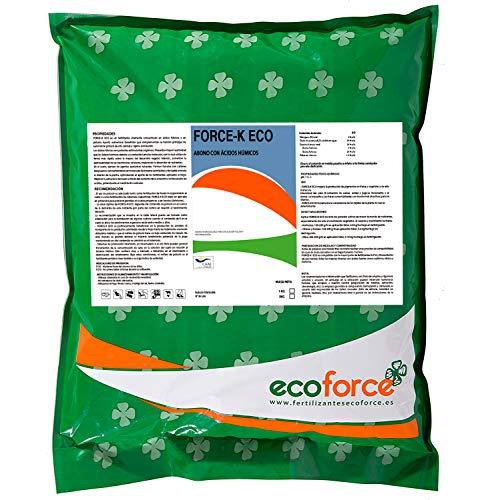 CULTIVERS Force-K Eco de 5 kg. Fertilizante de Potasio Ecológico Quelatado. Abono específico con pH neutro para el Engorde y Maduración de los Frutos.