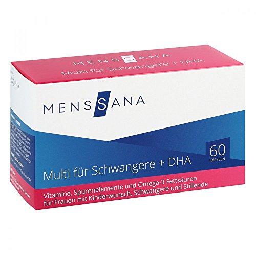 MensSana Multi für Schwangere + DHA Kapseln, 60 St. Kapseln