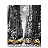 Calle De Nueva York Kits De Pintura Por Números Kits De Regalo De Pintura Al Óleo De Bricolaje Lienzo Para Adultos Niños Principiantes Decoración Del Hogar